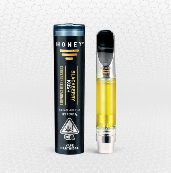 Blackberry Kush Vape Oil Cartridge Melbourne