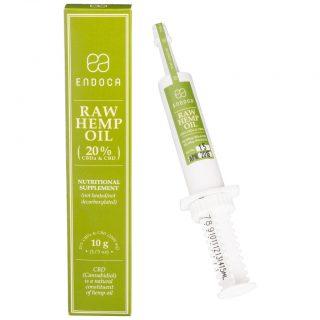 CBD Paste Raw Syringe Endoca Northam 10g