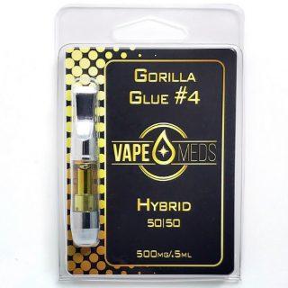Buy Gorilla Glue #4 Vape Oil Cartridge NZ
