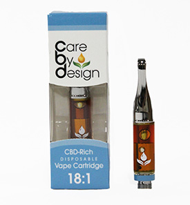 Care By Design CBD Rich Vape Cartridge NZ