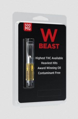 W Beast High THC Terpenes Vape Cartridge NZ
