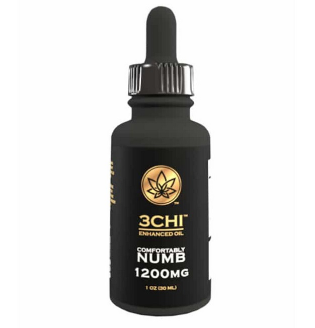 3Chi Delta-8-THC Comfortably Numb Tincture Dampier