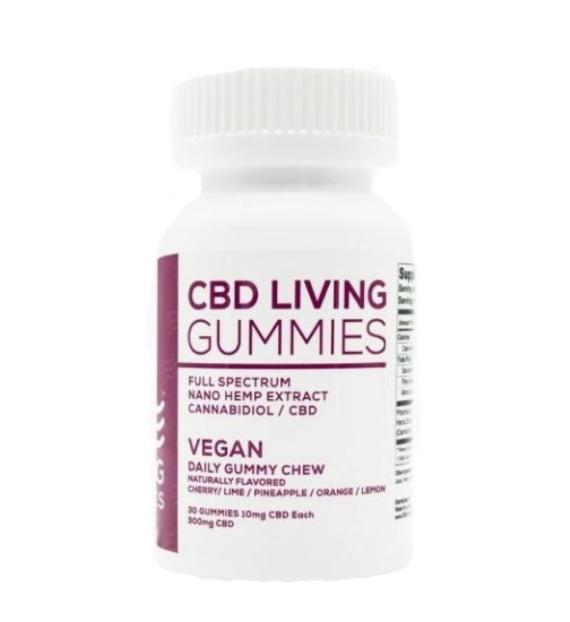 Adelaide Vegan Gummies CBD Living 300mg