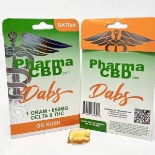 Buy Delta-8 THC OG Kush Dabs AU