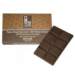 CBD Living Chocolate Bar 200mg AU