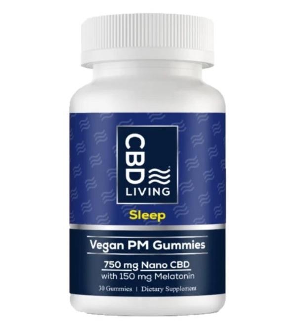 CBD Living Vegan Gummies 750mg Perth
