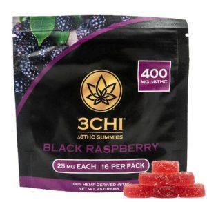 Delta-8-THC Black Raspberry Gummies Darwin