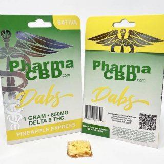 Delta-8-THC Pineapple Express Dabs Mandurah