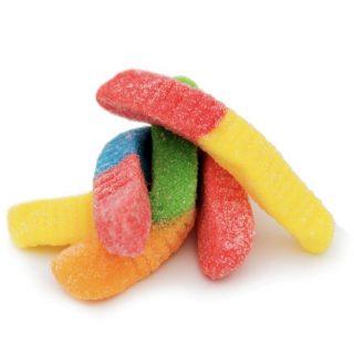 Delta-8-THC Rainbow Gummy Worms Aussie