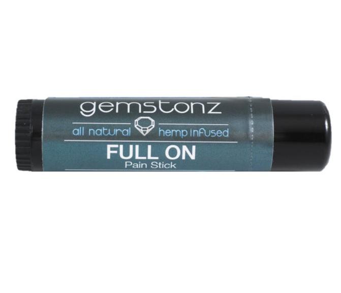 Full On CBD Pain Stick – AU Hemp Infused Gemstonz