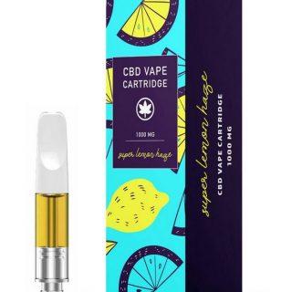 Super Lemon Haze CBD Cairns Vape Cartridge